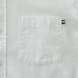 OXFORD RIBBON SHIRT - WHITE