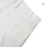 NEWTON CHINO PANTS - WHITE (High Waist)