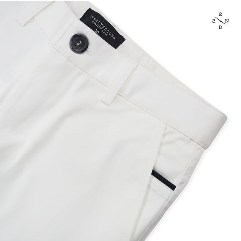 FOSTER CHINO PANTS - WHITE X