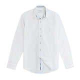 COLE COTTON SHIRT - WHITE