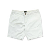 VIKTOR CHINO SHORTS - WHITE (REGULAR SHORTS)