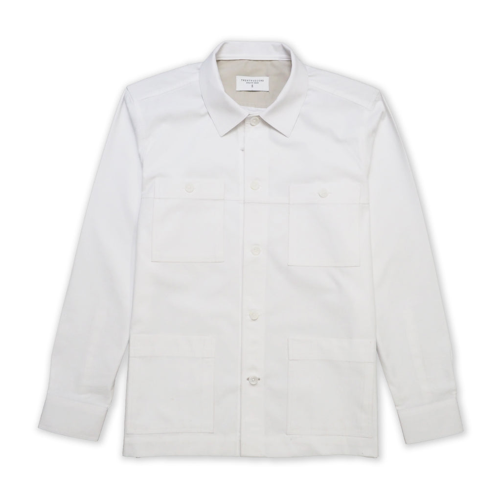 LIFEWEAR JACKET - WHITE