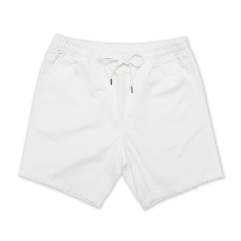 OLIVER RELAXED SHORTS - WHITE