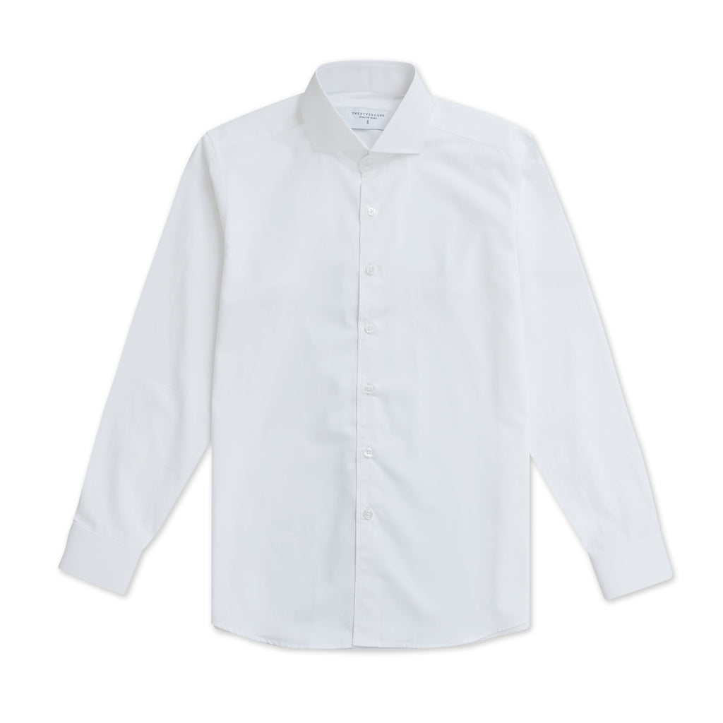 BASIC CUTAWAY COLLAR - WHITE