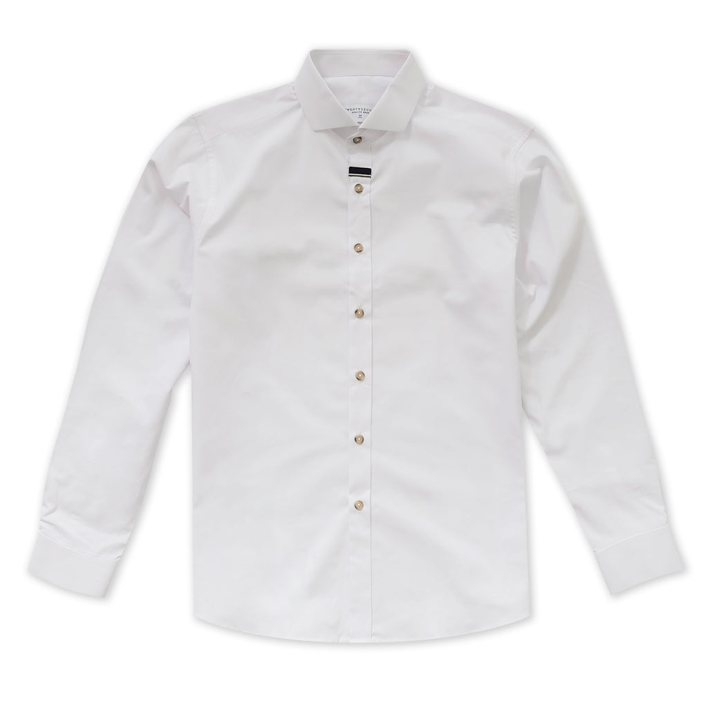 MIDNIGHT COTTON SHIRT - WHITE
