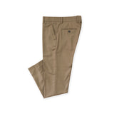 ITALIAN WOOL PANTS - KHAKI