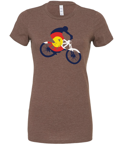 Colorado Mountain Bike Women's T-Shirt