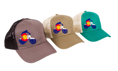 Colorado Mountain Bike Hat - Econscious Eco Trucker