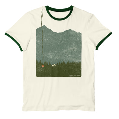 Isolation (the camping) Ringer T-Shirt