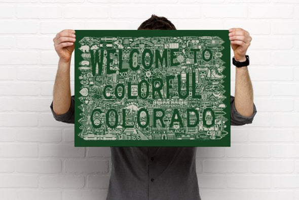 Welcome to Colorful Colorado poster