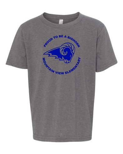 Mountain View Logo Youth Short Sleeve T-Shirt