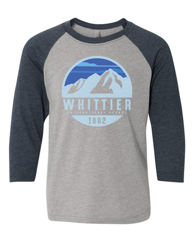 Whittier Youth CVC 3/4 Sleeve Raglan