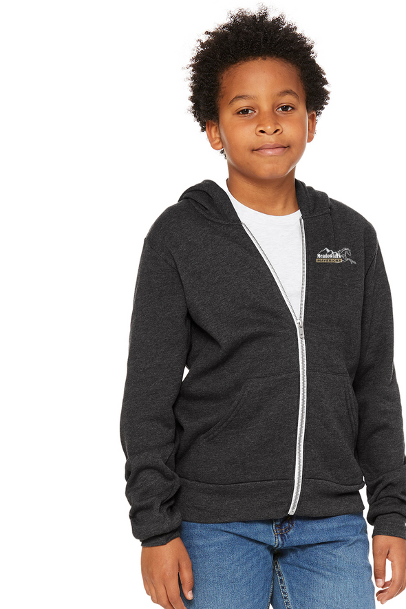 School Logo Full-Zip Hoodie - Youth