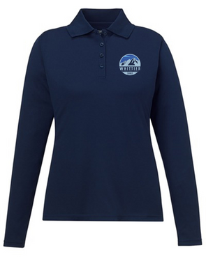 Whittier Ladies' Performance Long Sleeve Polo