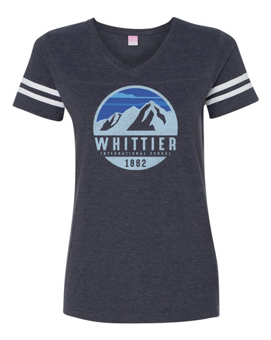 Whittier Ladies' Football T-Shirt