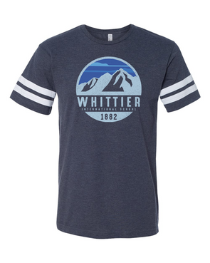 Whittier Mens Football T-Shirt