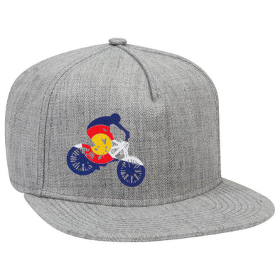 Colorado Mountain Bike Hat Otto Snapback Hat