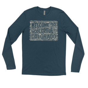 Colorado ICON Men's Long Sleeve T-Shirt