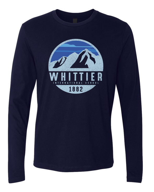 Whittier Mens Long Sleeve T-Shirt