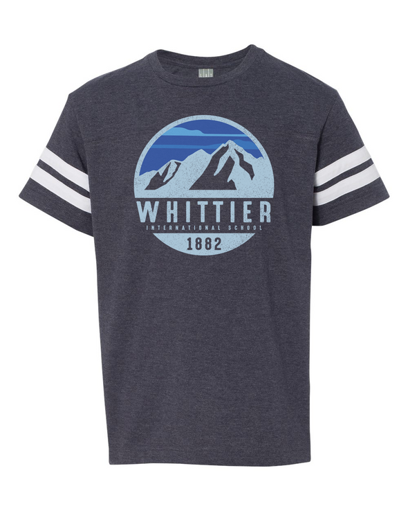Whittier Youth Football Fine Jersey T-Shirt