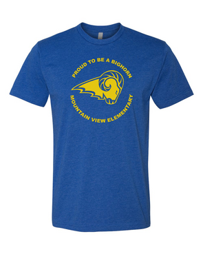 Mountain View Logo Adult Short Sleeve T-Shirt