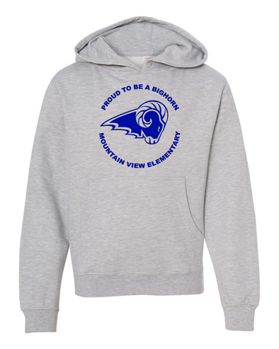 Mountain View Logo Youth Pull Over Hoodie