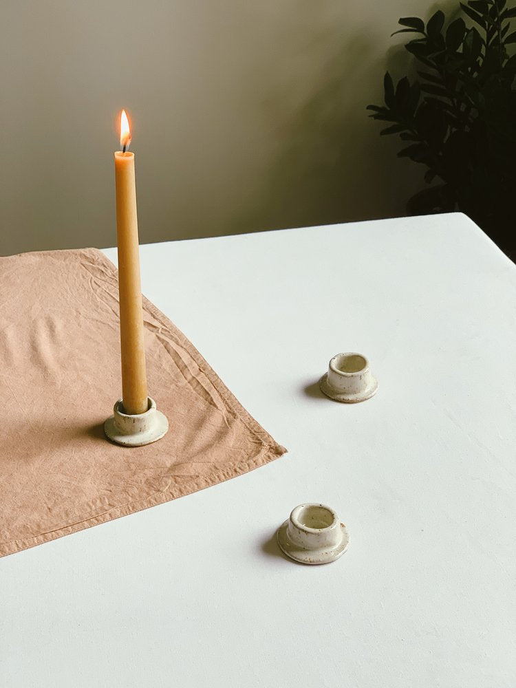 InnerSpacism - Ceramic Candlestick Holder
