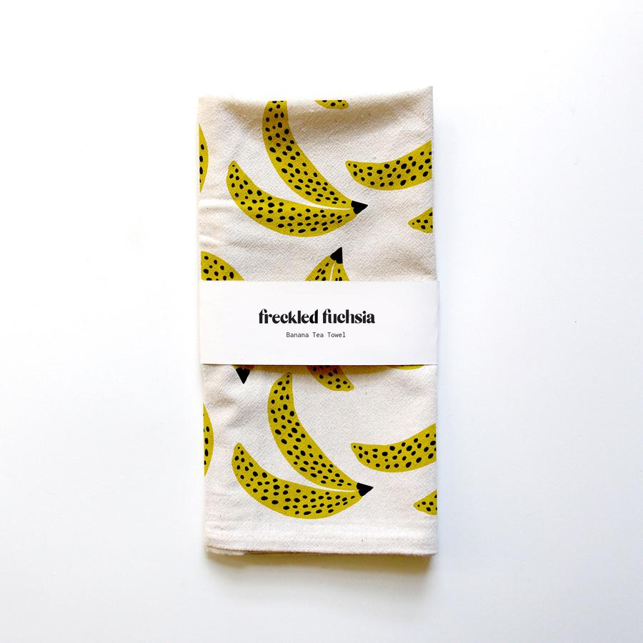 Freckled Fuchsia - Tea Towel - Bananas