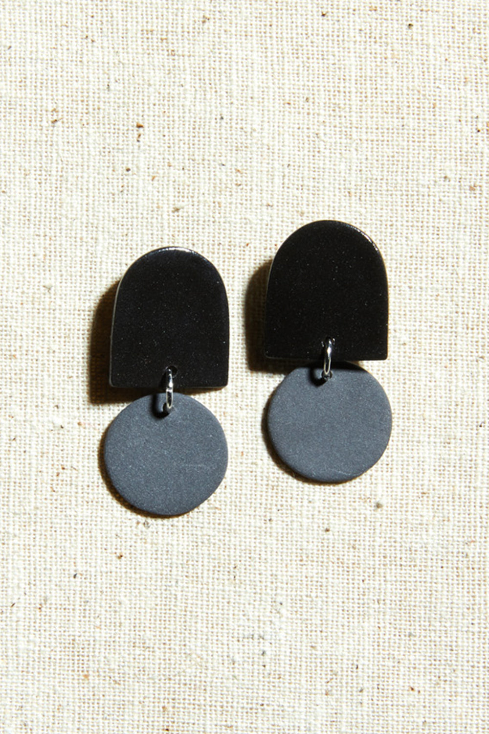 Mini Dome Earrings - Four Eyes Ceramics