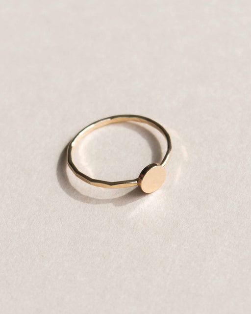 Goldeluxe - Circle Stacking Ring | 14k Gold Fill