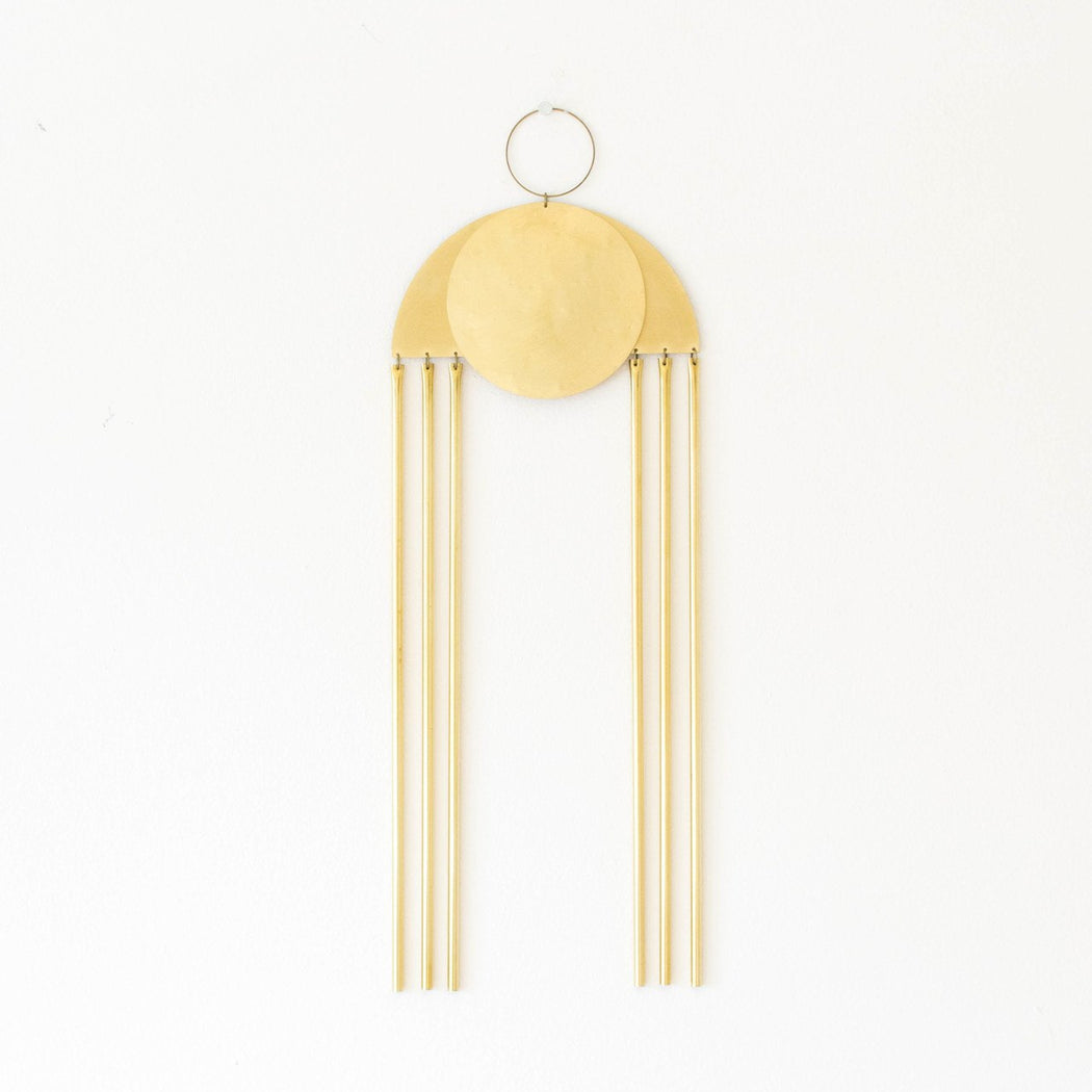 Sol Brass Wall Hanging - Electric Sun Creatives