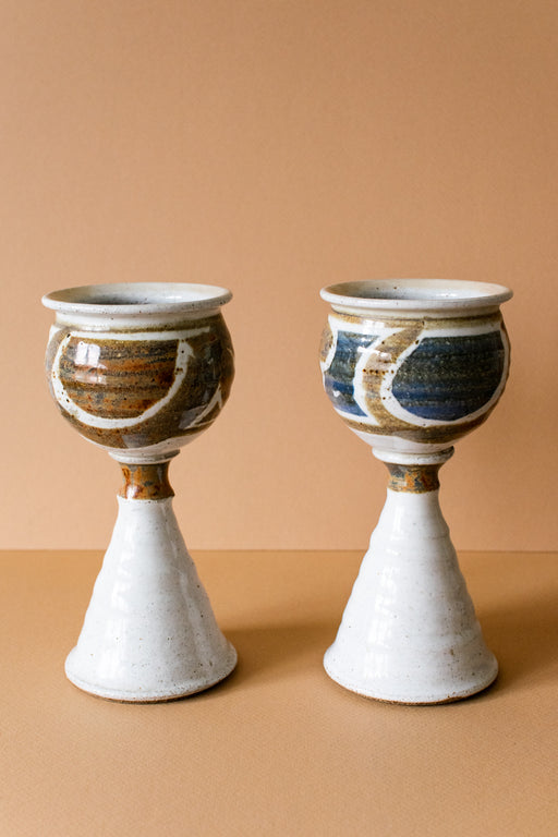 Ceramic Goblets (Set of 2)