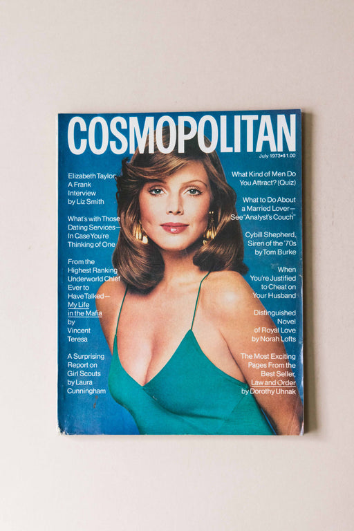July 1973 Cosmo Magazine Ann Charlotte