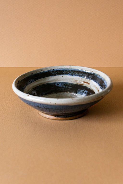 Blue Speckled Ceramic Bowl