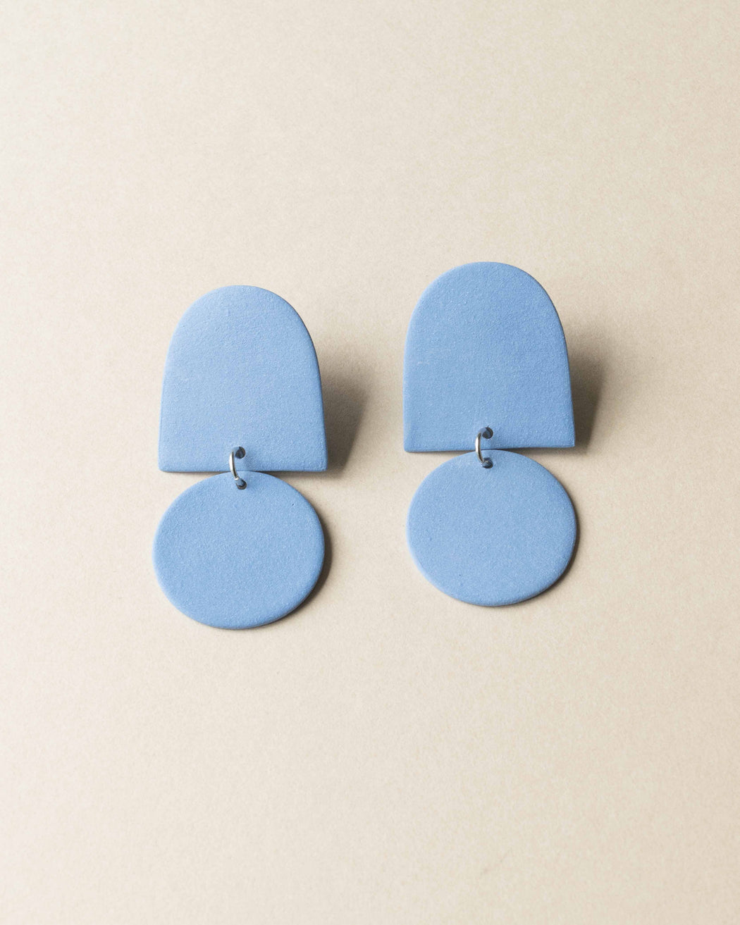 Dome Earrings - Four Eyes Ceramics