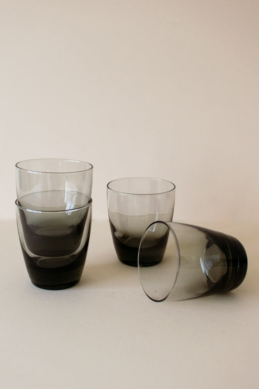Smoked Glass Tumblers