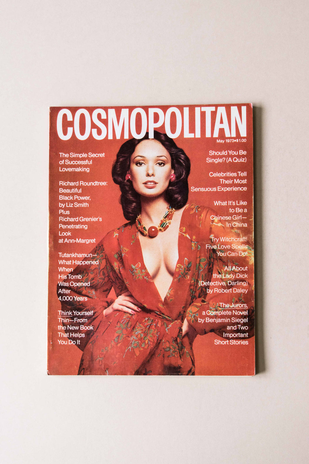 May 1973 Cosmo Magazine Lynn Woodruff