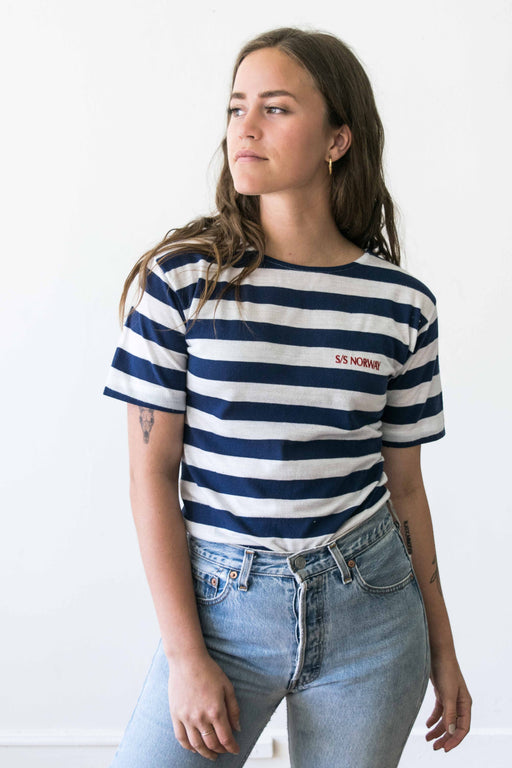 Striped S/S Norway Tee