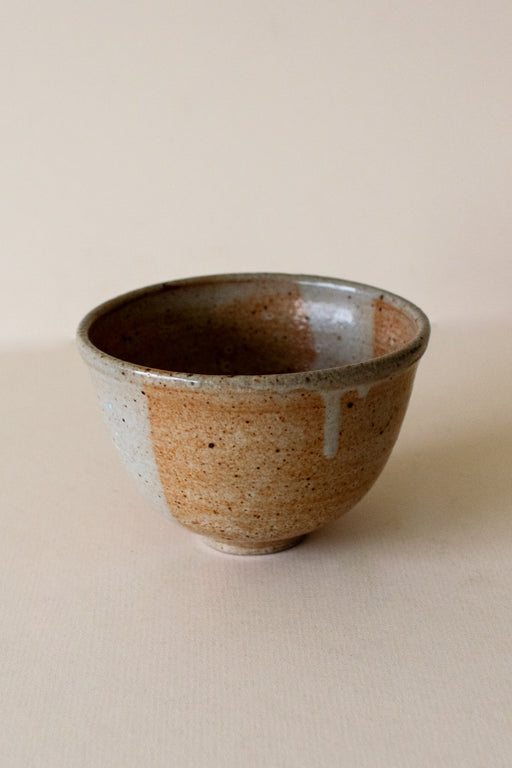 Neutral Speckeld Ceramic Bowl