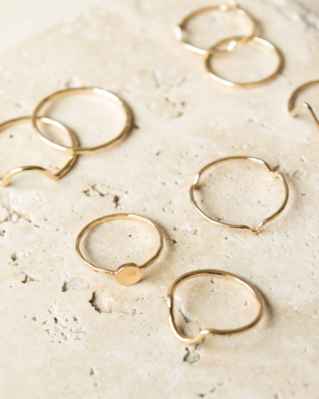 Goldeluxe Jewelry - Peak Stacking Ring | 14k Gold-Filled