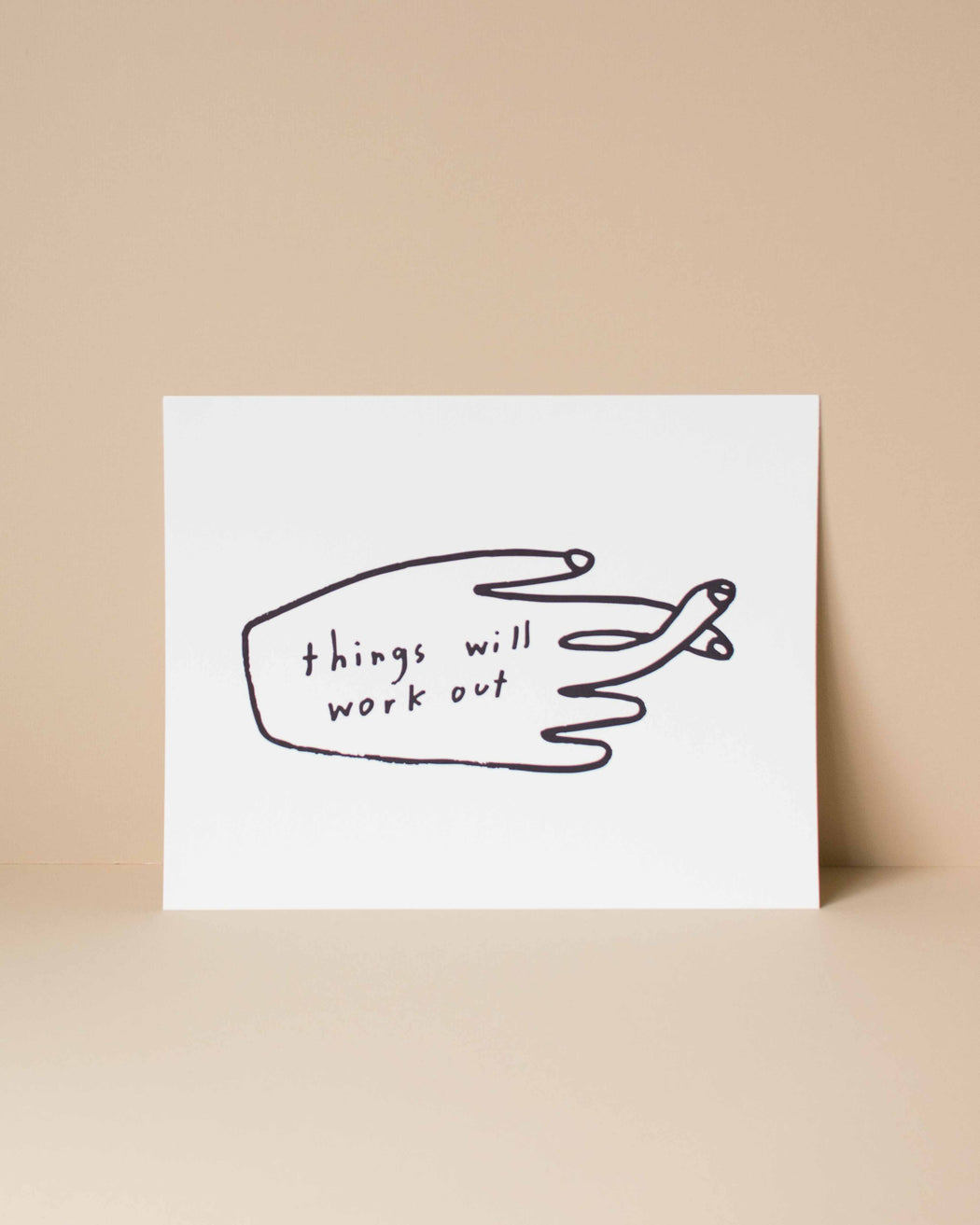 Things Will Work Out Poster