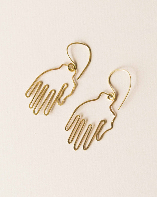 We Mumble Hand Earrings