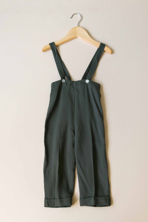 Kids Olive Suspenders