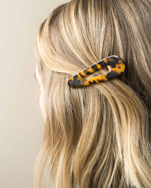 Teardrop Barrette