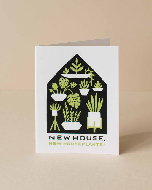 Worthwhile Paper - Houseplants Housewarming Card