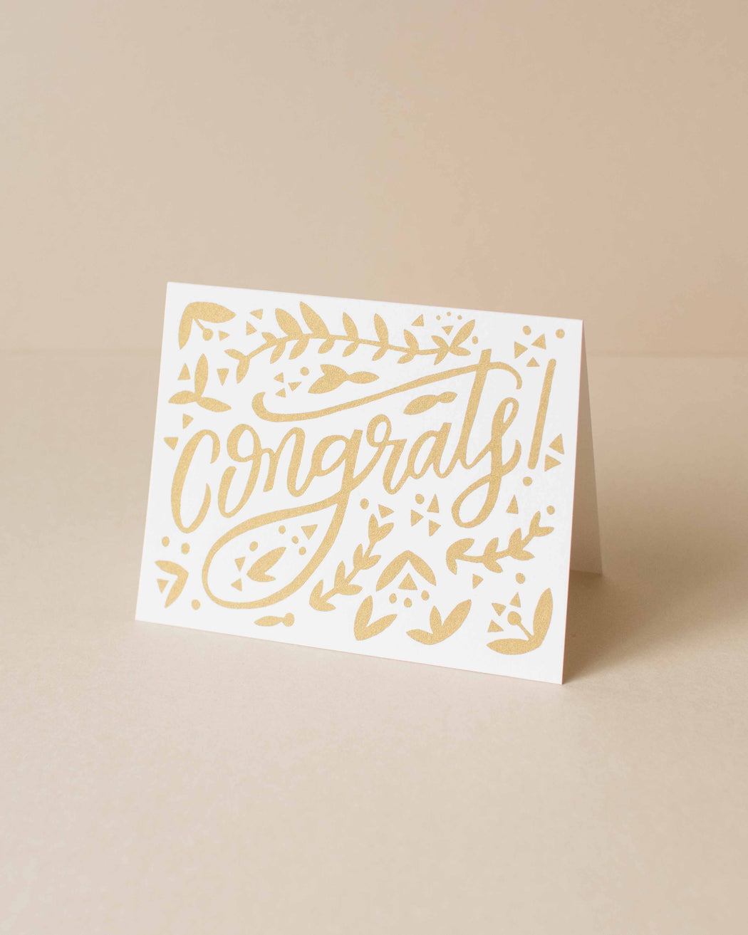 Worthwhile Paper - Congrats Card
