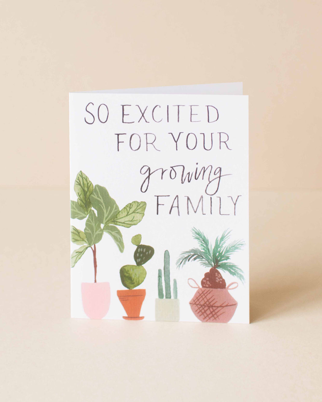 Pen + Pillar - Growing Family Card