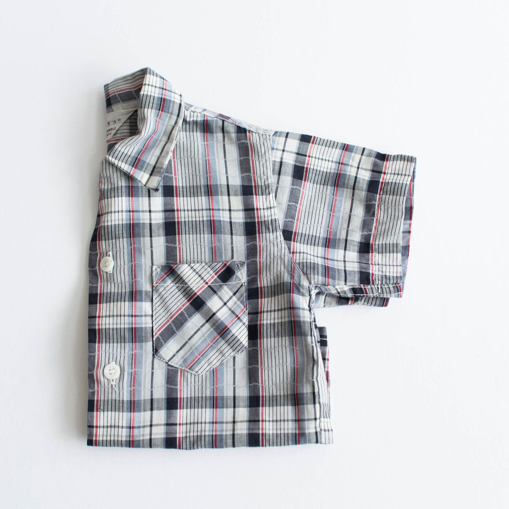 Kid's Penney's Plaid Button Down