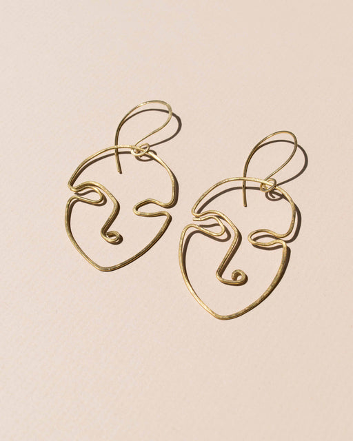 We Mumble Face Earrings