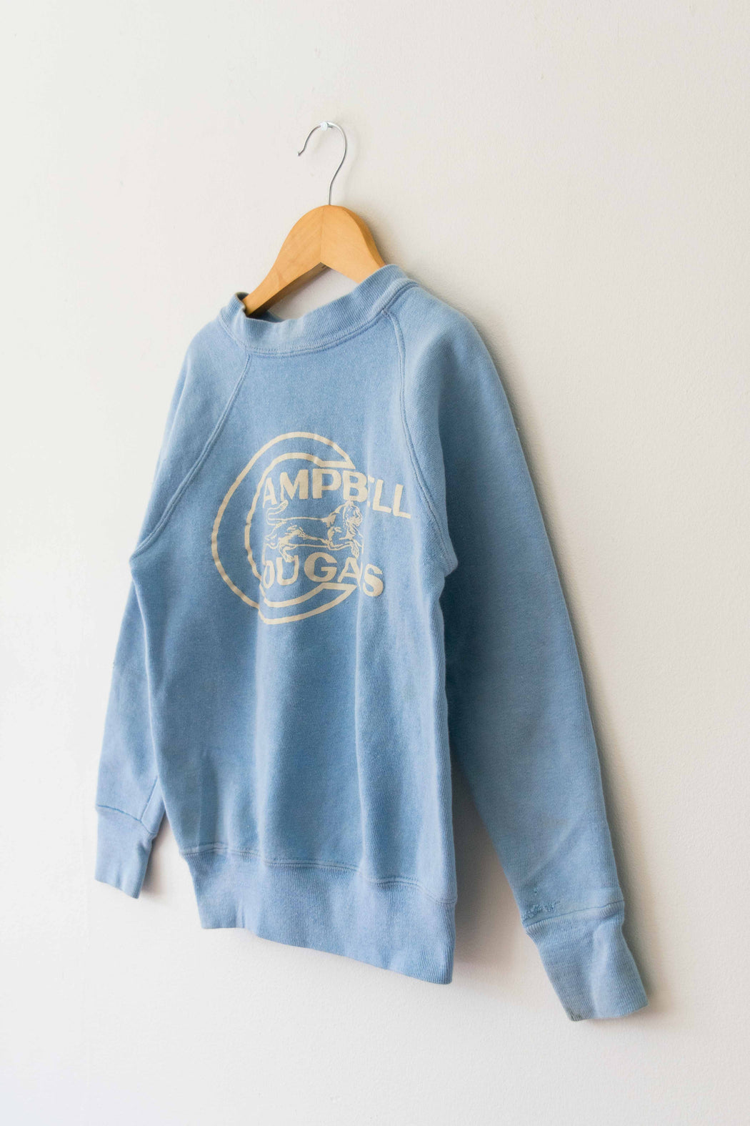 Kids Light Blue Campbell Cougars Crewneck